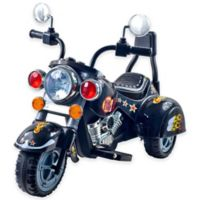 Lil' Rider Road Warrior Motorcycle in Black