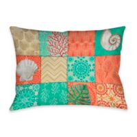 Coastal Chic Indoor/Outdoor Throw Pillow in Multi