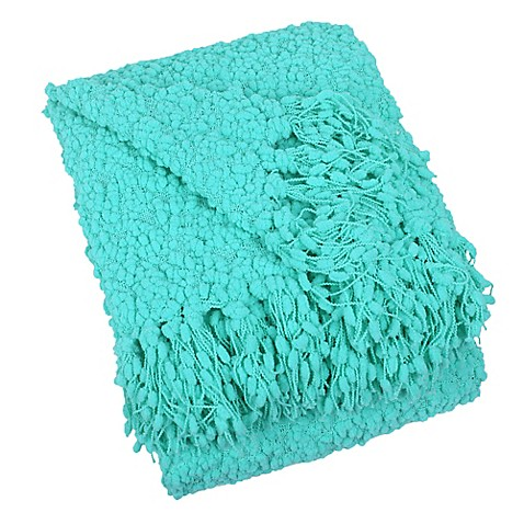 Buy Blissliving Home 174 Temi Throw Blanket In Aqua From Bed
