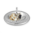Nambe® Dazzle Silver-Plated Ring Holder