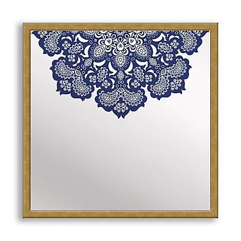 Designs in Lace Framed & Printed Mirror Art - Bed Bath & Beyond