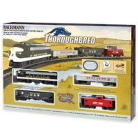 Thoroughbred HO Scale Electric Train Set