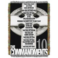 Big Ten Commandments Tapestry Throw