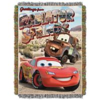 "Disney® Pixar Cars ""Greetings From Radiator Springs"" Tapestry Throw"