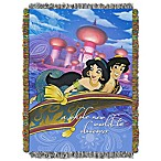 "Disney® Aladdin ""A Whole New World"" Tapestry Throw"