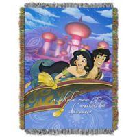 "Disney® Aladdin ""A Whole New World"" Tapestry Throw"