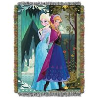 "Disney® ""Frozen Two Worlds, One Heart"" Tapestry Throw"