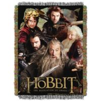 Warner Brothers® Hobbit Fighting Company Tapestry Throw