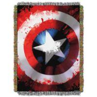 Marvel Comics Captain America Star Shield Tapestry Throw
