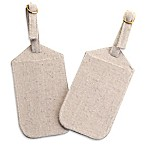 Lillian Rose® Luggage Tags in Tan (Set of 2)