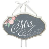 "Lillian Rose™ Chalkboard Style ""Mrs."" Chair Sign"