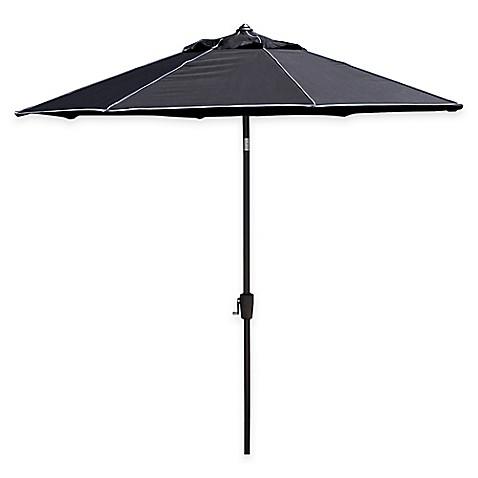 buy scott living 9 foot patio umbrella in portofino black