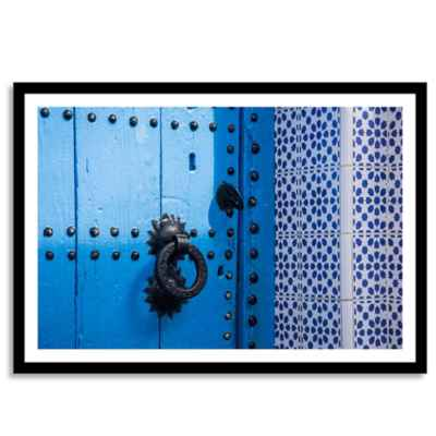 Chefchaouen Morocco Photographic Wall Art