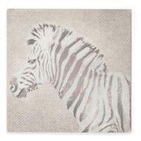 Zebra Canvas Print Wall Art