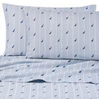 Nautica® Audley Twin Sheet Set in Blue