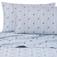 Nautica® Audley Full Sheet Set in Blue