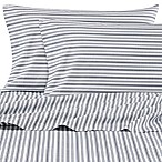 Nautica® Coleridge Twin XL Sheet Set in Charcoal