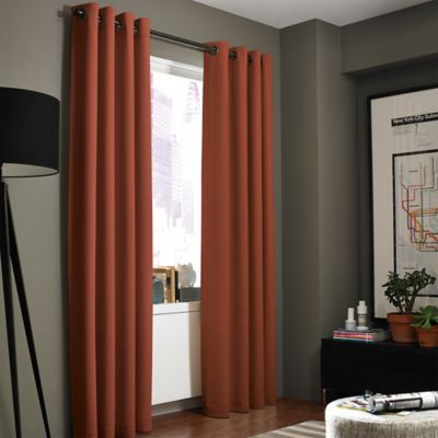 Buy Paprika Curtain Panels From Bed Bath Amp Beyond