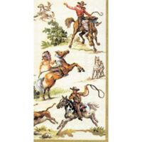 16-Count Wild West Paper Guest Towels