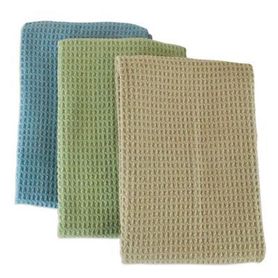 microfiber multi purpose kitchen towels set of 3 in assorted colors. beautiful ideas. Home Design Ideas