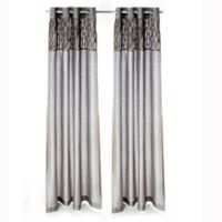 Glenna Jean Addison 84-Inch Window Curtain Panels (Set of 2)