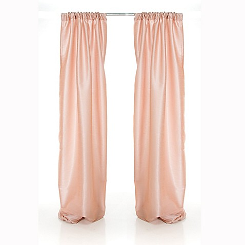 Pink Window Curtains from Buy Buy Baby