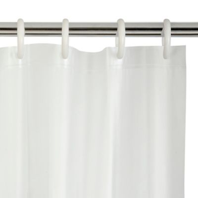 Peva 70 Inch X 72 Inch Shower Curtain Liner In Frost