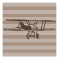 Glenna Jean Fly-By Small Airplane Wall Decal
