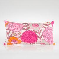 Glenna Jean Millie Rectangular Floral Throw Pillow
