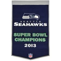 NFL Seattle Seahawks Super Bowl Champs Dynasty Banner