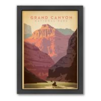 Americanflat 21-Inch x 27-Inch Grand Canyon Framed Wall Art