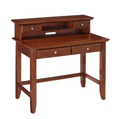 home styles chesapeake student desk hutch in classic cherry