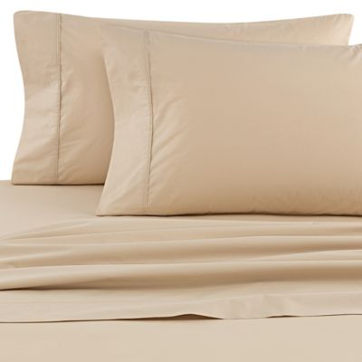 claritin california king sheet set in taupe - California King Bed Sheets