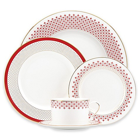 Kate spade new york jemma street dinnerware collection for Bed bath and beyond kate spade