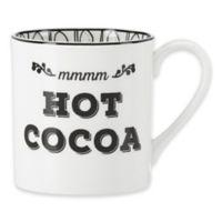 "Lenox® Bistro Place ""MMMM Hot Cocoa"" Mug"