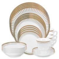 Lorren Home Trends Aria 24-Piece Dinnerware Set