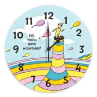 Trend Lab® Dr. Seuss™ Kid You'll Move Mountains! Wall Clock