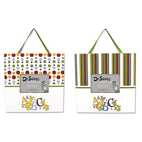 Trend Lab Dr Seuss Abc Frames Set Of 2 Buybuy Baby