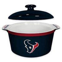 NFL Houston Texans Sculpted Ceramic Gametime Oven Bowl