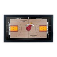 NBA Miami Heat Home Court Framed Plaque