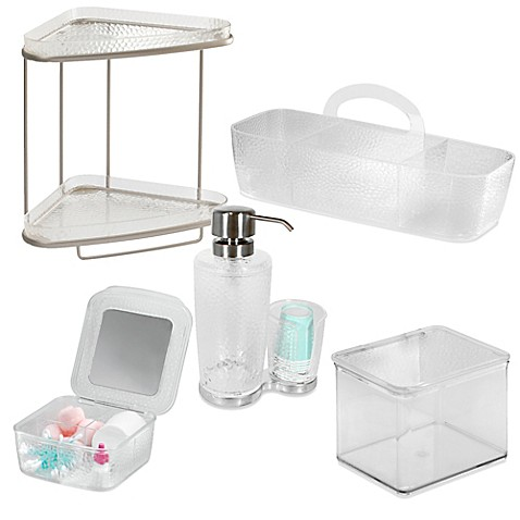Interdesign rain vanity set bed bath beyond - Bed bath and beyond bathroom vanity ...