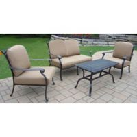 Oakland Living Clairmont 4-Piece Conversation Set