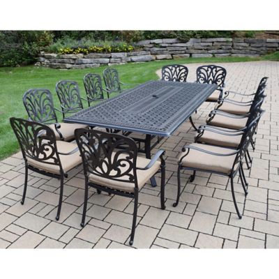 Lovely Oakland Living Clairmont 13 Piece Outdoor Dining Set
