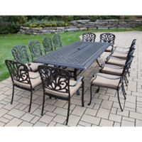 Oakland Living Clairmont 13-Piece Outdoor Dining Set