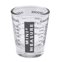 Mini Glass Measuring Cup