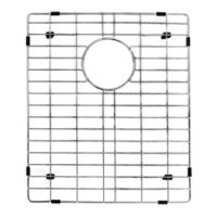 Vigo 16.9-Inch x 14.3-Inch Kitchen Sink Bottom Grid in Polished Chrome