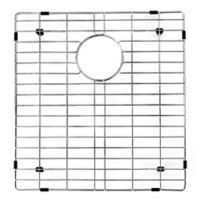 Vigo 17.8-Inch x 16.7-Inch Kitchen Sink Bottom Grid in Polished Chrome