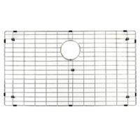 Vigo 17.8-Inch x 30.8-Inch Kitchen Sink Bottom Grid in Polished Chrome