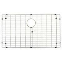 Vigo 17.8-Inch x 33.8-Inch Kitchen Sink Bottom Grid in Polished Chrome