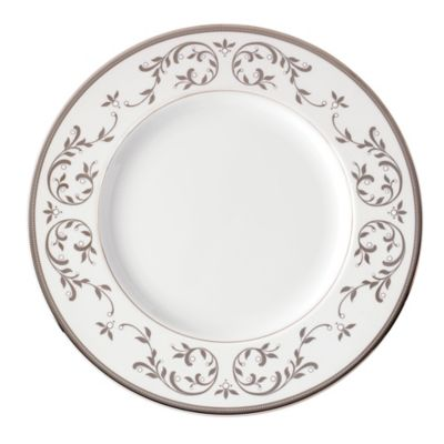 Lenox® Opal Innocence™ Silver Dinner Plate  sc 1 st  Bed Bath u0026 Beyond & Buy Silver Dinner Plates from Bed Bath u0026 Beyond